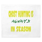 Ghost Hunting Season King Duvet
