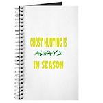 Ghost Hunting Season Journal