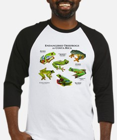 Endangered Tree Frogs of Costa Rica Baseball Jerse