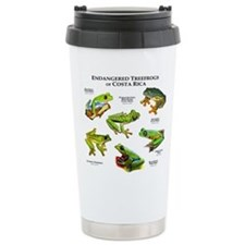 Endangered Tree Frogs of Costa Rica Thermos Mug