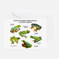 Endangered Tree Frogs of Costa Rica Greeting Card