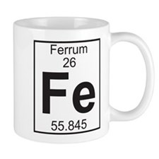 Element 26 - Fe (ferrum) - Full Mug