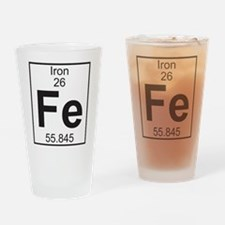 Element 26 - Fe (iron) - Full Drinking Glass