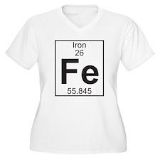Element 26 - Fe (iron) - Full Plus Size T-Shirt