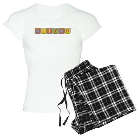 Aliyah Foam Squares Pajamas