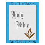 The Masonic Oath Small Poster