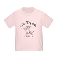 Big Sister Giraffes T-Shirt