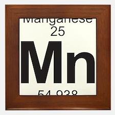 Element 25 - Mn (manganese) - Full Framed Tile