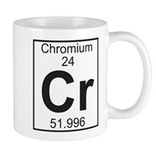 Element 24 - Cr (chromium) - Full Mug