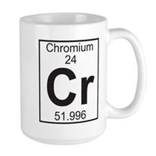 Element 24 - Cr (chromium) - Full Mug