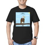 Animal Overachievers - Scout Eagle Men's Fitted T-
