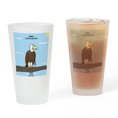 Animal Overachievers - Scout Eagle Drinking Glass