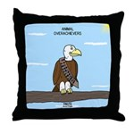 Animal Overachievers - Scout Eagle Throw Pillow