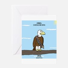 Animal Overachievers - Scout Eagle Greeting Card