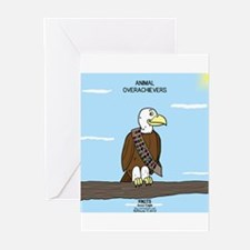 Animal Overachievers - Scout Eagle Greeting Cards