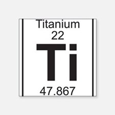 Periodic table titanium stickers periodic table titanium for Table th width attribute