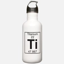 Element 22 - Ti (titanium) - Full Water Bottle