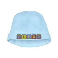 Alexa Foam Squares baby hat