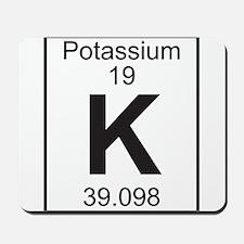 Element 19 - K (potassium) - Full Mousepad