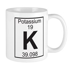 Element 19 - K (potassium) - Full Mug