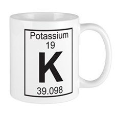 Element 19 - K (potassium) - Full Small Mugs