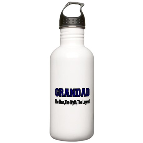 GRANDAD The Man,The Myth, The Legend Water Bottle