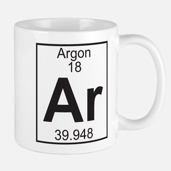 Element 18 - Ar (argon) - Full Mug