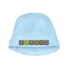 Alaina Foam Squares baby hat