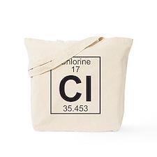 Element 17 - Cl (chlorine) - Full Tote Bag