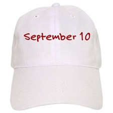 September 10 Baseball Cap