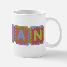 Aidan Foam Squares Mug