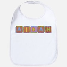 Aidan Foam Squares Bib