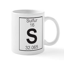 Element 16 - S (Sulfur) - Full Mug