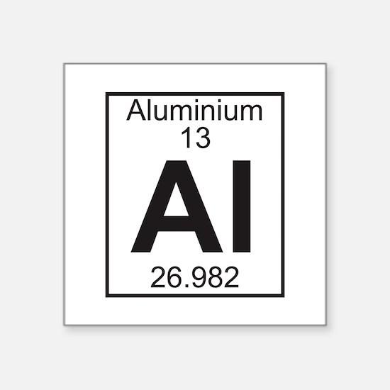 Element 13 - Al (aluminium) - Full Sticker