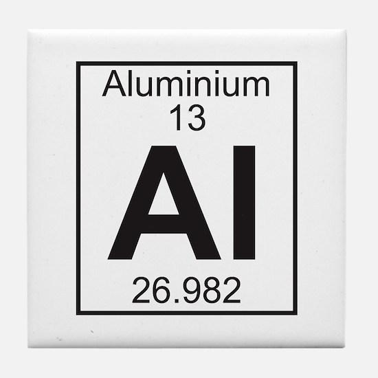 Element 13 - Al (aluminium) - Full Tile Coaster