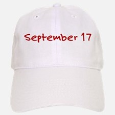 September 17 Baseball Baseball Cap