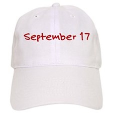 September 17 Baseball Cap