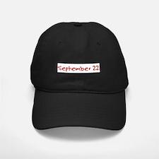 September 22 Baseball Hat