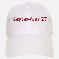 September 27 Baseball Baseball Cap