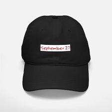 September 27 Baseball Hat