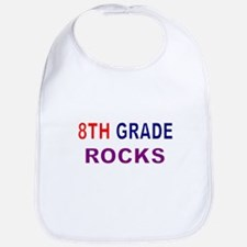 8TH GRADE ROCKS Bib