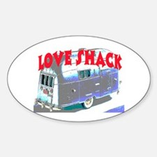 LOVE SHACK (TRAILER) Bumper Stickers