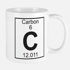 Element 6 - C (carbon) - Full Mug
