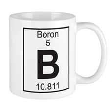 Element 5 - B (boron) - Full Mug