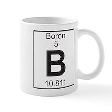 Element 5 - B (boron) - Full Small Mugs
