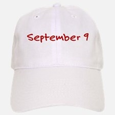 September 9 Baseball Baseball Cap