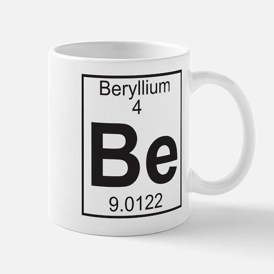 Element 4 - Be (beryllium) - Full Mug