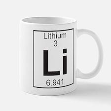 Element 3 - Li (lithium) - Full Mug