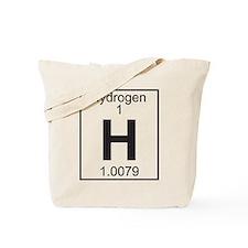 Element 1 - H (hydrogen) - Full Tote Bag