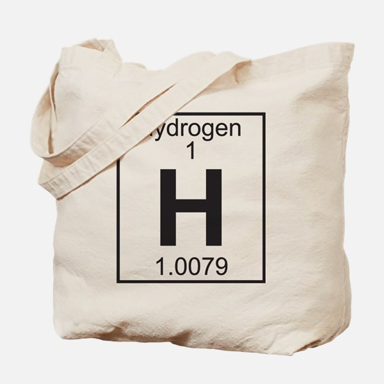 Element 1 - H (hydrogen) - Full Tote Bag